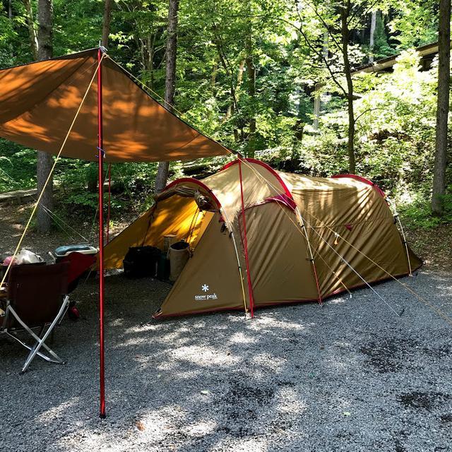 画像: テントのみは20%オフでしたが、テントとタープのセットは残念ながら割引対象外でした。