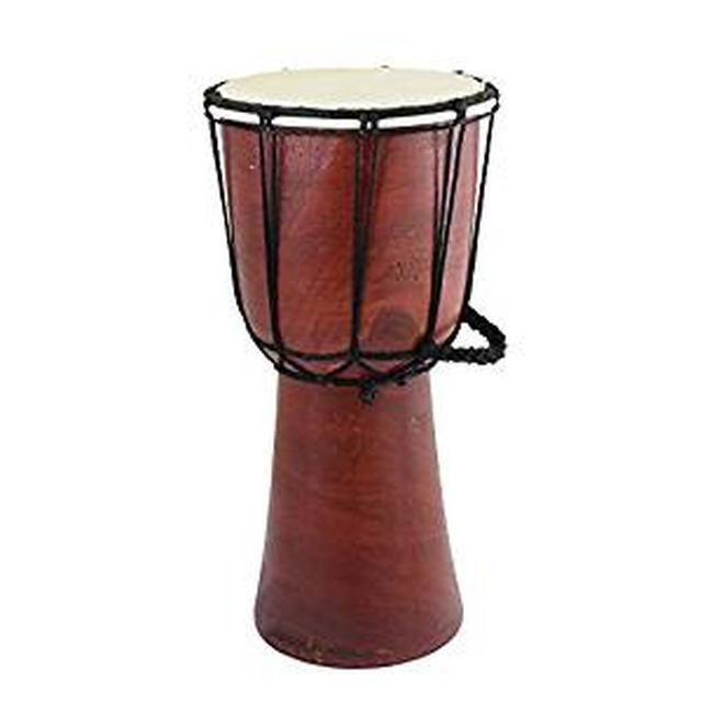 画像: Amazon | トモ(Tomo) ジャンベM 太鼓 高さ約30cm φ約15cm 10218853044 インドネシア製 | ジャンベ | 楽器