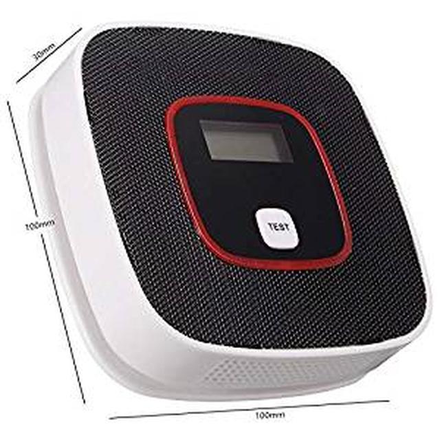 画像: Amazon|OBEST 防災グッズ 電池式 バッテリー取り付け簡単 ブラック|火災警報器 通販