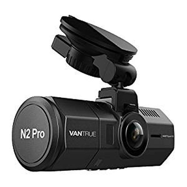 画像: Amazon | 前後カメラ ドライブレコーダー VANTRUE N2 Pro 前後 1080P 車内+車外 ドラレコ HDR 2カメラ 駐車監視 SONY製センサー LED信号機対策 フルHD ドライブ レコーダー 2.5K&1440P前録モード 1.5型LCD 170+140度広視野角 GPS機能(別売) 前後同時録画 18ヶ月保証期間 衝撃録画 高速起動 赤外線暗視機能 256GB(別売) サポート | ドライブレコーダー本体 | 車&バイク
