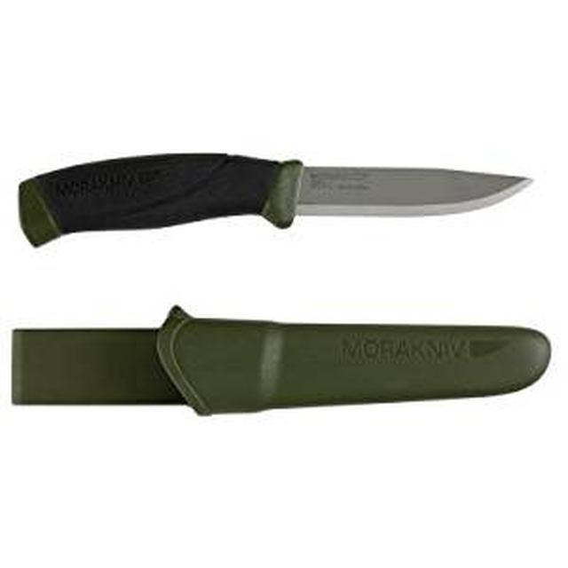 画像: Amazon   モーラ・ナイフ Mora knife Companion Heavy Duty MG   Morakniv(モーラナイフ)   シースナイフ