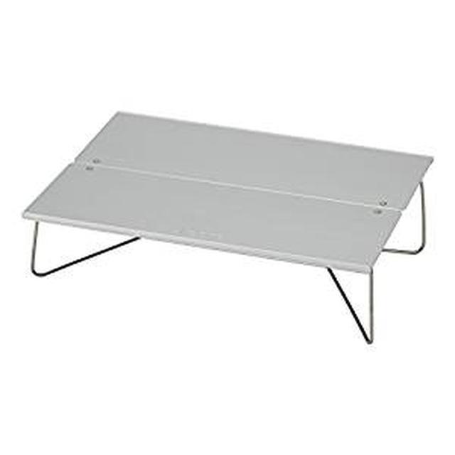 画像: Amazon | ソト(SOTO) ポップアップソロテーブル フィールドホッパー ST-630 アルミ ロールテーブル ケース付 アウトドア用 折りたたみ式 ソロキャンプに最適 | SOTO(ソト) | テーブル