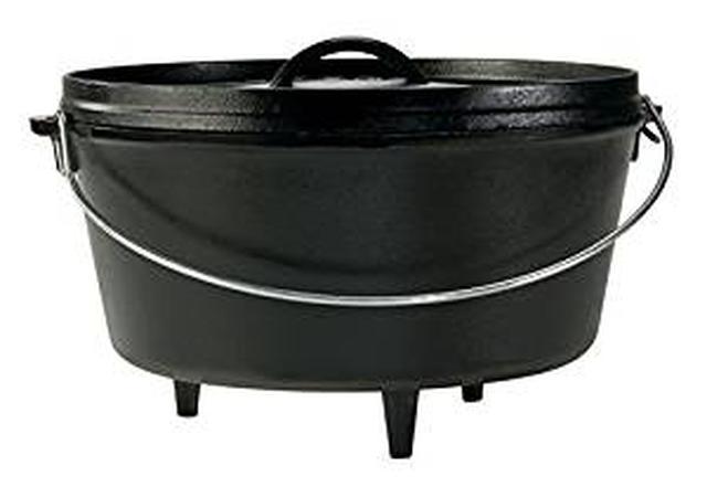 画像: Amazon | LODGE(ロッジ) ロジック12インチディープ深型キャンプダッチオーブン 足つき L12DCO3 | LODGE(ロッジ) | ダッチオーブン・スキレット
