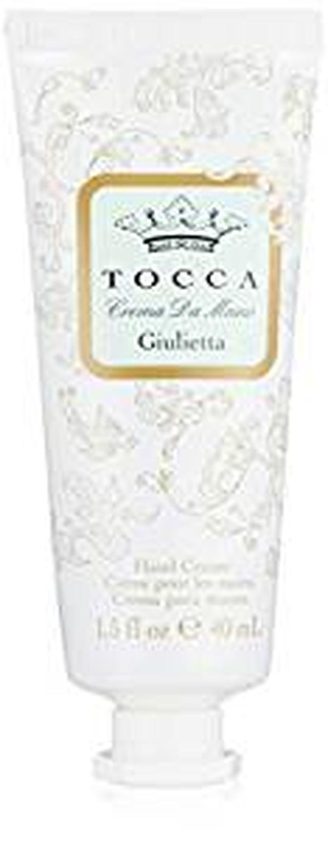 画像: Amazon.co.jp: トッカ(TOCCA) ハンドクリーム ジュリエッタの香り 40mL (手指用保湿 ピンクチューリップとグリーンアップルの爽やかで甘い香り): ビューティー
