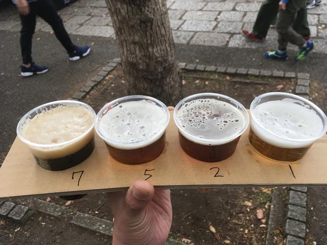 画像: クラフトビール飲み比べ