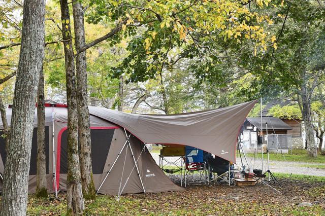 画像: 高機能なスノーピークのファミリーテントでキャンプを楽しもう!