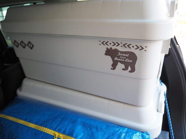 画像: 無印良品 『PP頑丈収納ボックス・特大』こちらのサイズは2段まで積み重ねることができます。