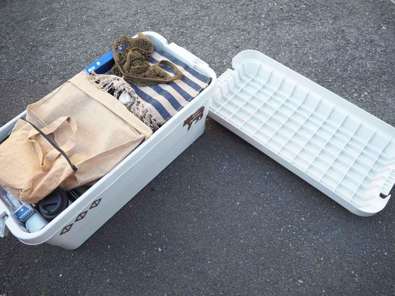画像: 無印良品 『PP頑丈収納ボックス・特大』 思った以上にたくさん入ります