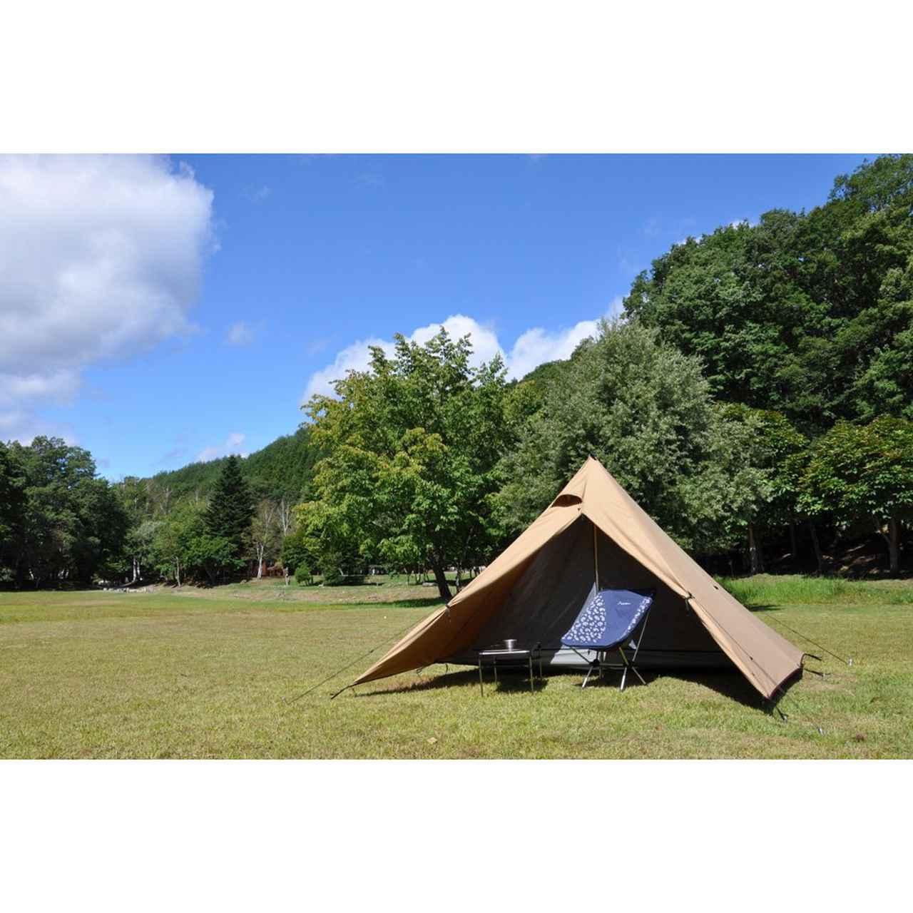 画像: 【テンマクデザイン・パンダTC】天幕の人気テント 自立式で設営簡単なのでソロキャンプにおすすめ