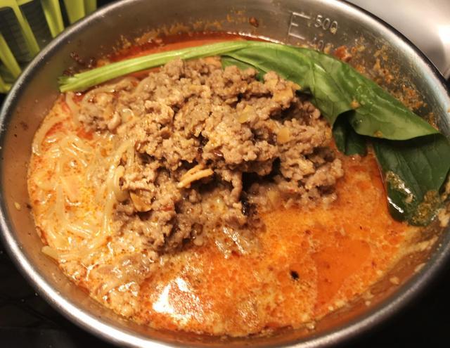 画像: 坦々麺の出来上がり!所要時間は、わずか15分!