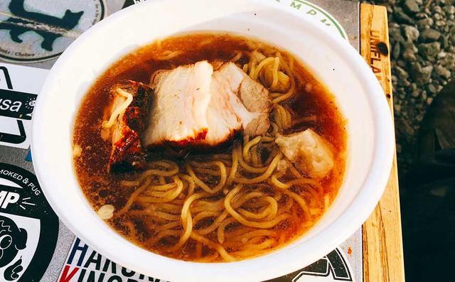 画像: 自家製スープと具が同時に作れるスグレモノ「坦々麺」