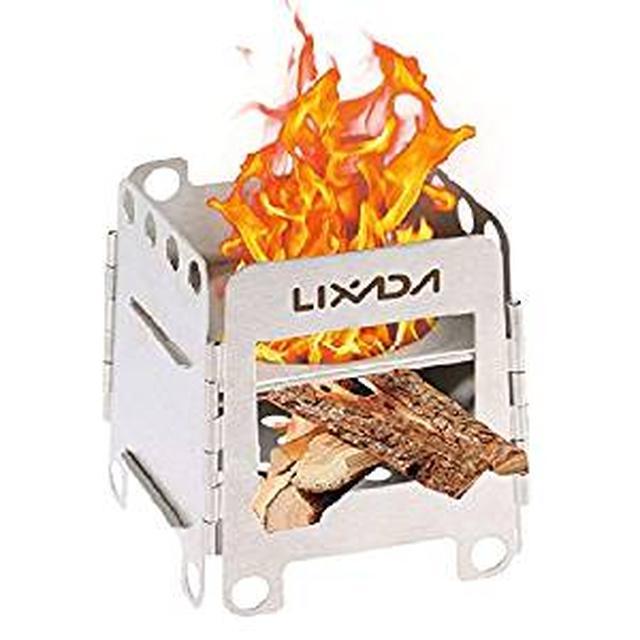 画像: Amazon | Lixada バーベキューコンロ・焚火台 焚き火台 折りたたみ式 軽量 | Lixada | バーベキューコンロ・焚火台