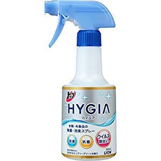 画像: Amazon | トップ ハイジア 除菌・消臭スプレー 本体 350ml | トップ ハイジア (HYGIA) | スプレー