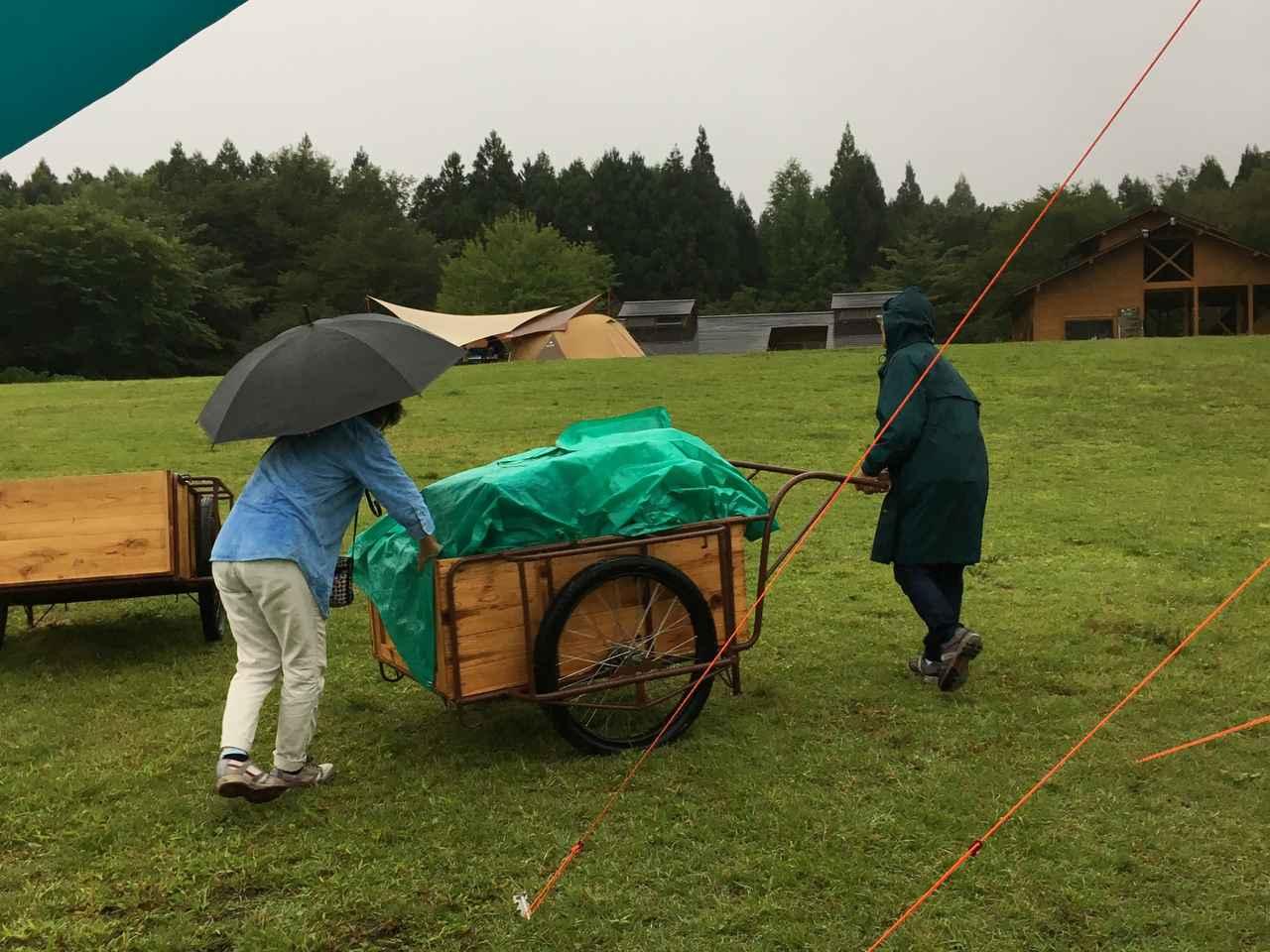 画像: 【静岡県】田貫湖キャンプ場 富士山がキレイに見え、日本の中でも人気のキャンプ場ですが、オートサイトではないので雨が降るとちょっと大変です。