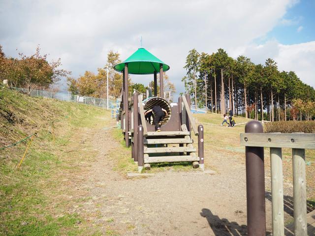 画像: 【静岡県】富士山樹空の森 無料の公園ですが、大型遊具が充実しています。