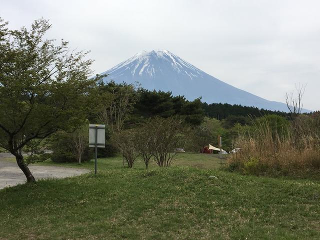 画像: 朝霧ジャンボリーオートキャンプ場 とても広くて富士山がキレイに見えるキャンプ場です。