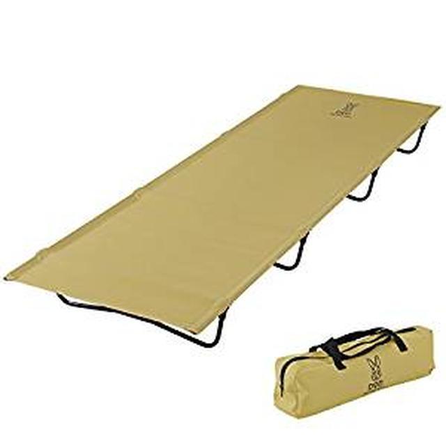画像: Amazon | DOD(ディーオーディー) バッグインベッド バッグに入る軽量ベッド ツーリングにも CB1-510T | DOD(ディーオーディー) | 折りたたみ式ベッド