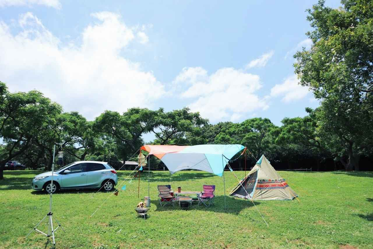 画像: 最小限の装備で身軽な2人キャンプ、楽しいですよ! futaricampguide.com
