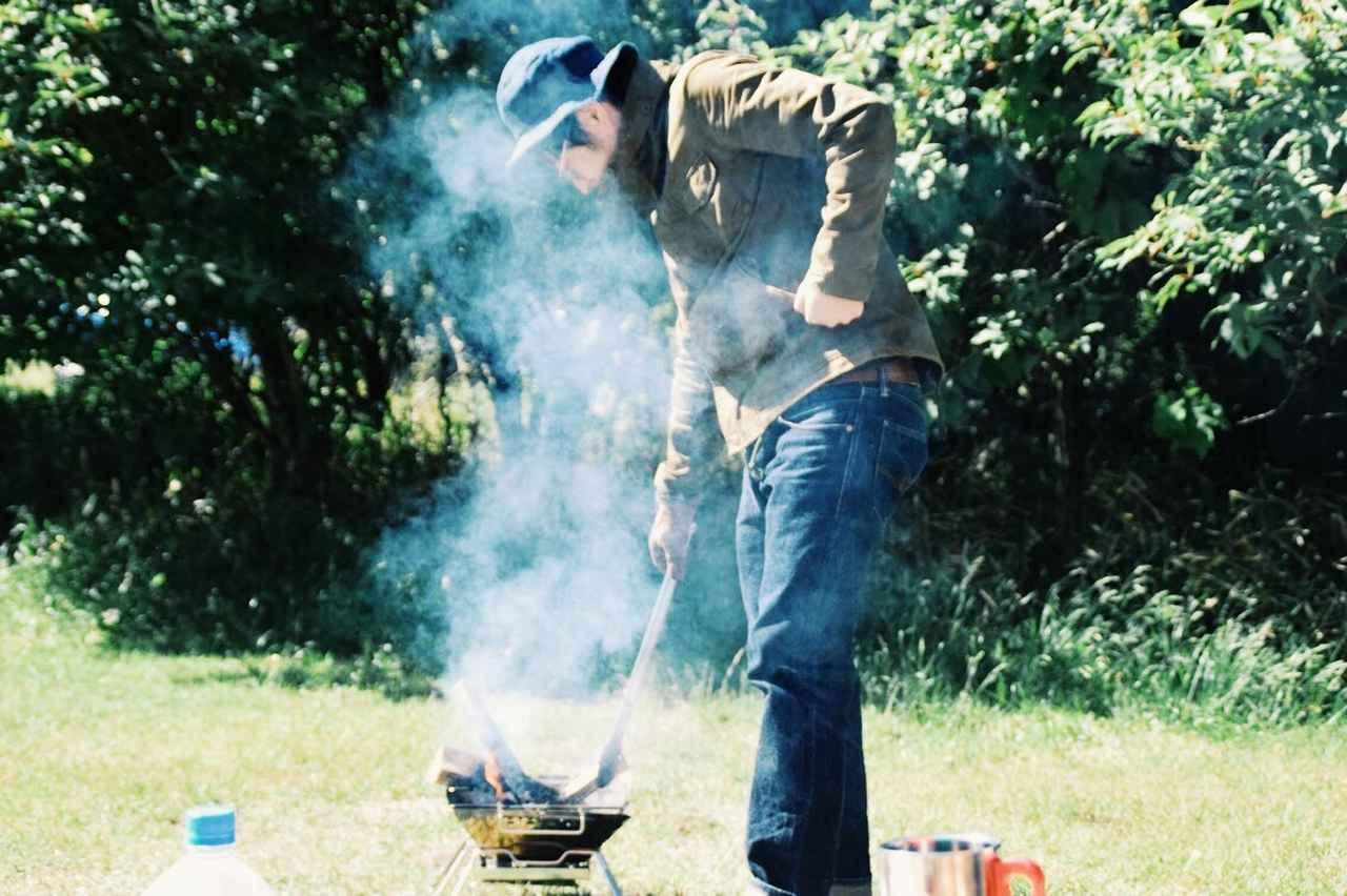 画像: めっちゃ煙被ってるけど、すごく楽しそうでした。 futaricampguide.com