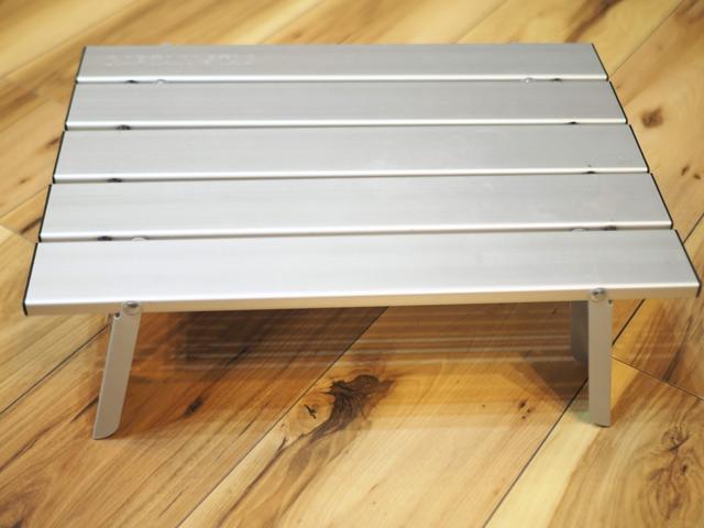 画像: キャプテンスタッグ アルミロールテーブル〈コンパクト〉 とても軽くて丈夫で使いやすい!