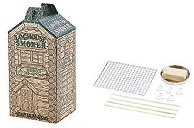 画像: Amazon | キャプテンスタッグ(CAPTAIN STAG) BBQ用 スモーク 燻製 ログハウス スモーカー・ブロックセット UG-1052 | キャプテンスタッグ(CAPTAIN STAG) | スモーカー