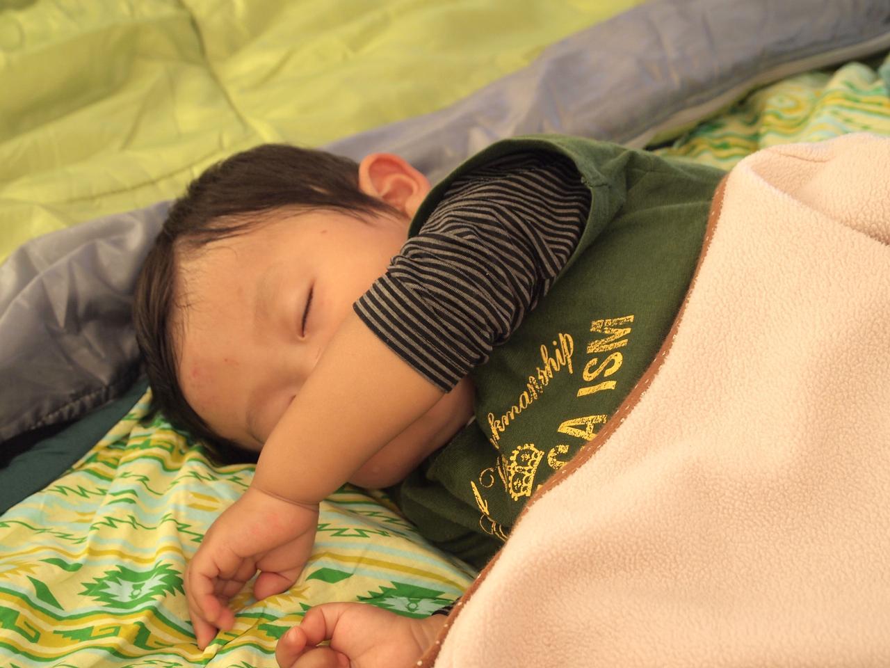 画像: 満足して眠れる幸せ