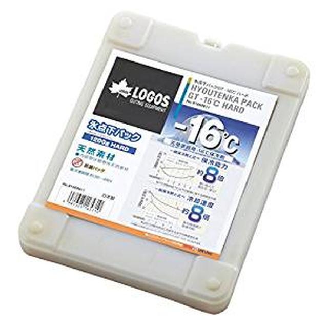 画像: Amazon | ロゴス(LOGOS) 保冷剤 氷点下パックGTマイナス16度ハード1200 | ロゴス(LOGOS) | 保冷剤