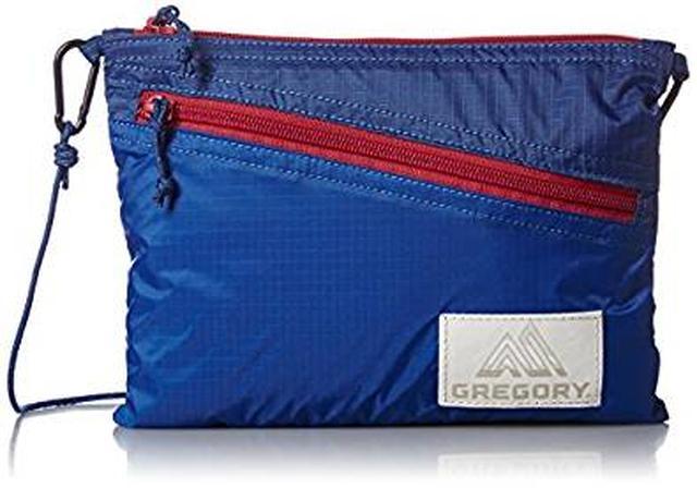 画像: Amazon.co.jp: [グレゴリー] ショルダーバッグ 公式 サコッシュLT AN311004 Blue/RED: シューズ&バッグ