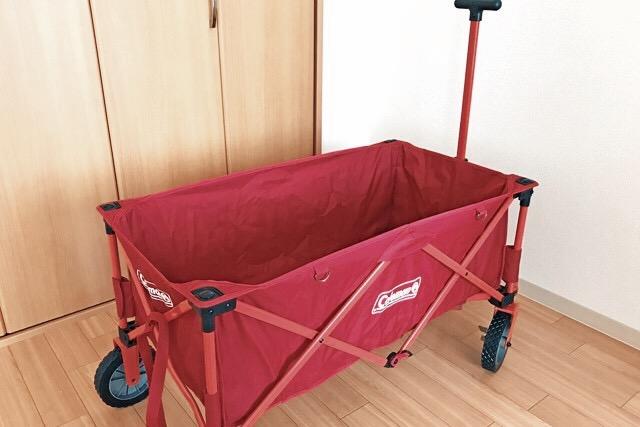画像: ワゴンを買ったのはつい去年の話、それまではワゴンなしでも頑張れる荷物の量でした futaricampguide.com