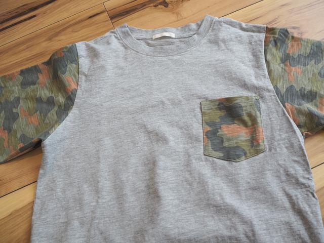 画像: Tシャツ:GU(画像:筆者撮影) このデザインはキッズサイズ限定でした