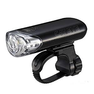 画像: Amazon   キャットアイ(CAT EYE) LEDヘッドライト HL-EL140 JIS前照灯規格適合品 ブラック   キャットアイ(CAT EYE)   ヘッドライト