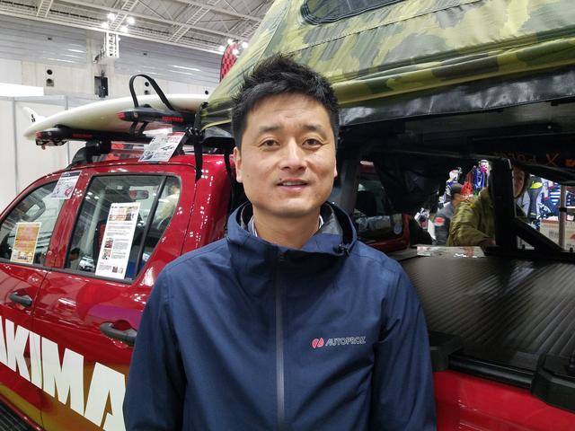 画像: AUTOPROZの梁川代表 www.auto-proz.com