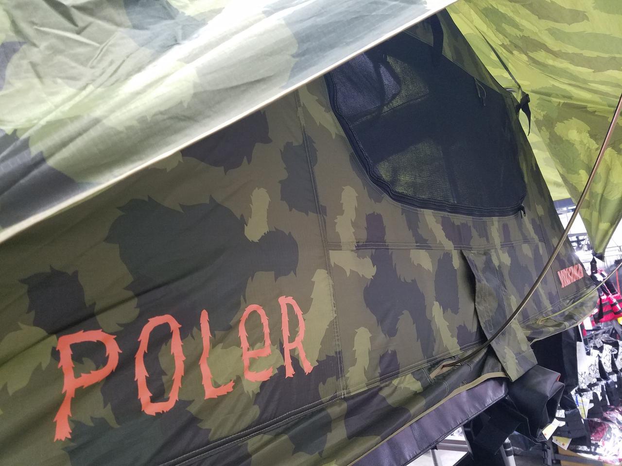画像: 「POLeR」とのコラボ商品(撮影・編集部)