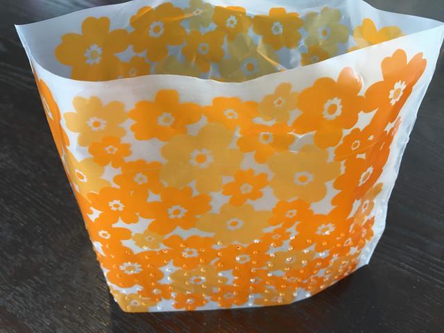 画像: 100円ショップ「セリア」の『水切りゴミ袋 自立タイプ』 (画像:筆者撮影)