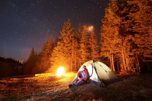 画像: ソロキャンプの夜の楽しみ方 〜焚き火・お酒・コーヒー・温泉・星空鑑賞など〜