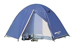 画像: Amazon   キャプテンスタッグ(CAPTAIN STAG) テント リベロ ツーリングテントUV M-3119 ドーム型 2人用 防水 バイク・自転車積載 軽量・コンパクト設計 バッグ付き   キャプテンスタッグ(CAPTAIN STAG)   テント本体