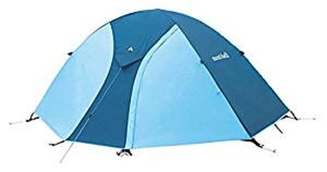 画像: Amazon | モンベル(mont-bell) テント クロノスドーム2型 [2人用] スカイブルー 1122491-SKB | モンベル(mont-bell) | テント本体
