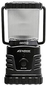 画像: Amazon   GENTOS(ジェントス) LED ランタン 【明るさ360ルーメン/実用点灯27-78時間/防滴】 エクスプローラー EX-V777D 防災 あかり 停電時用 ANSI規格準拠   GENTOS(ジェントス)   ランタン