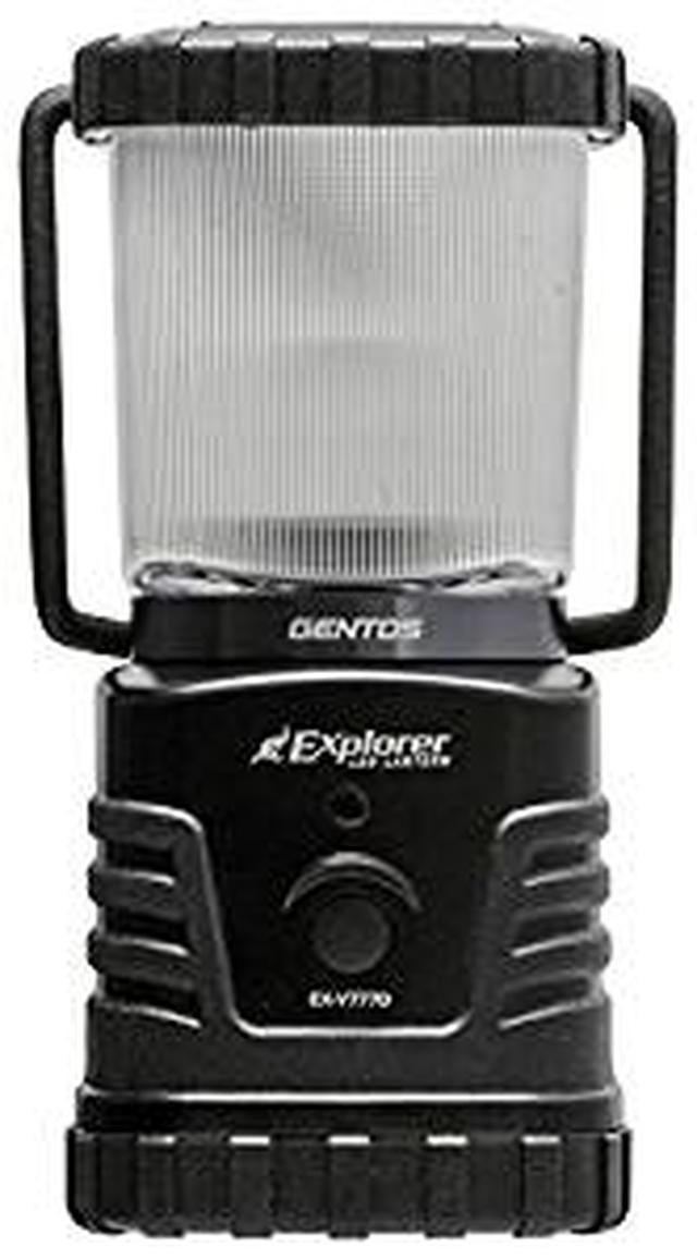 画像: Amazon | GENTOS(ジェントス) LED ランタン 【明るさ360ルーメン/実用点灯27-78時間/防滴】 エクスプローラー EX-V777D 防災 あかり 停電時用 ANSI規格準拠 | GENTOS(ジェントス) | ランタン