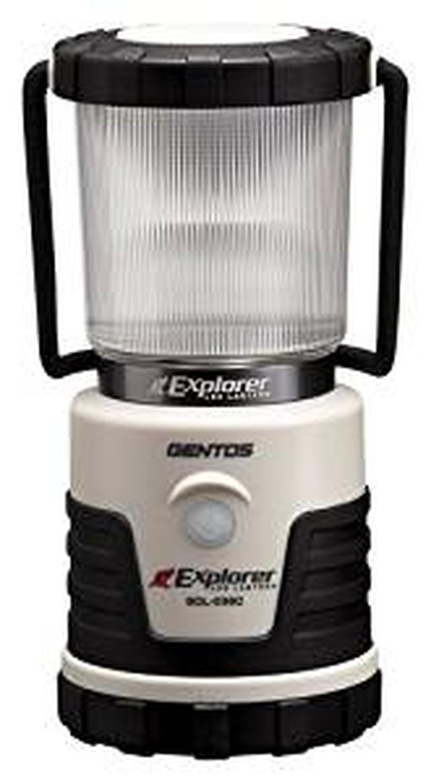 画像: Amazon | GENTOS(ジェントス) LED ランタン 【明るさ380ルーメン/実用点灯14-150時間/3色切替/防滴】 エクスプローラー SOL-036C 防災 あかり 停電時用 ANSI規格準拠 | GENTOS(ジェントス) | ランタン