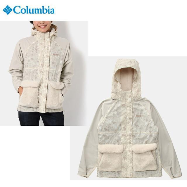 画像: Columbia コロンビア ハーフバレイウィメンズパターンドジャケット