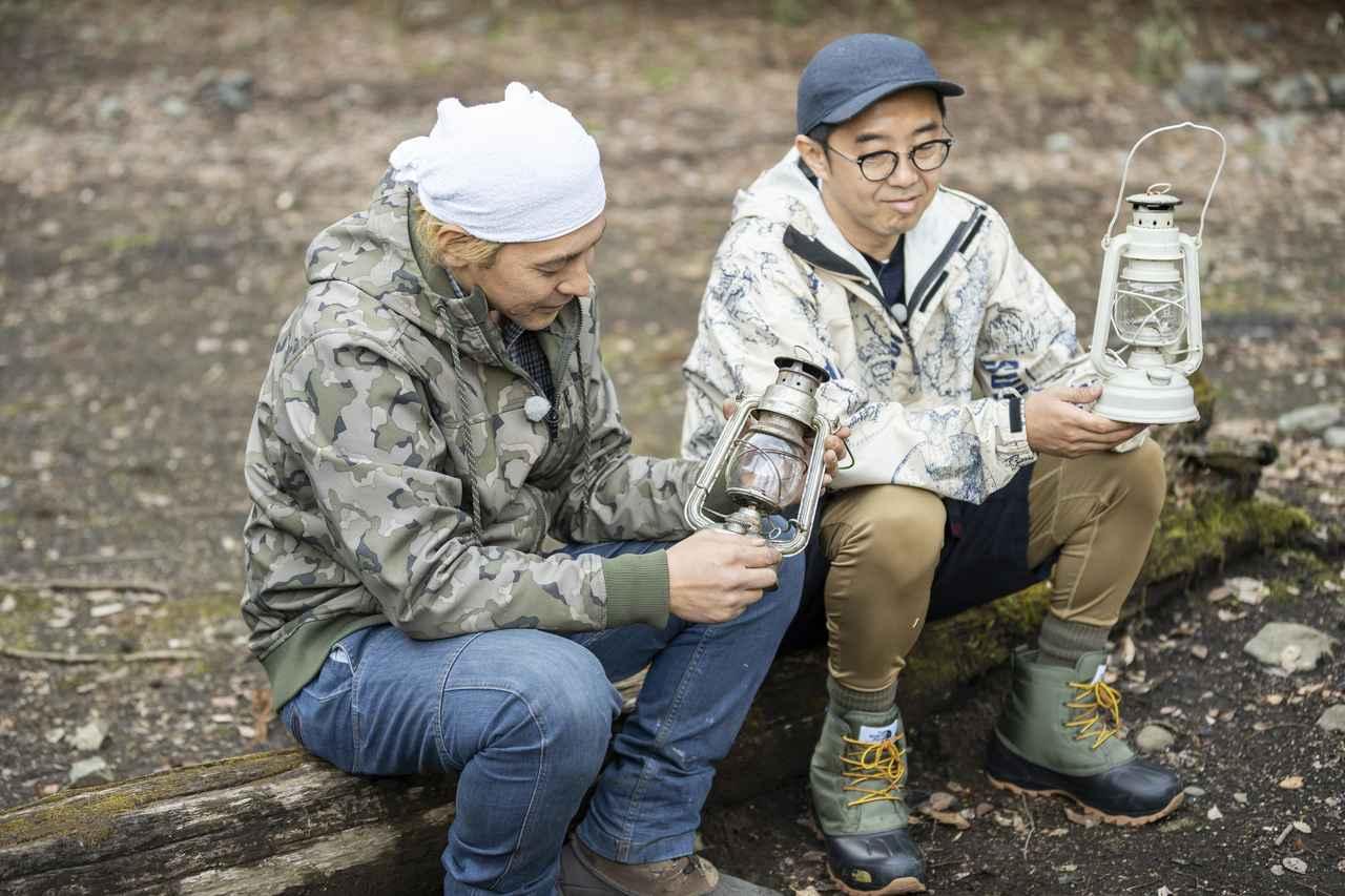 画像: ヒロシ流ソロキャンプの楽しみ方! オイルランタンを使って、キャンプの夜をロマンチックに