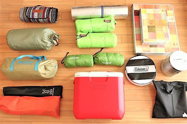 画像: わたしたち夫婦の夏キャンプの装備 futaricampguide.com