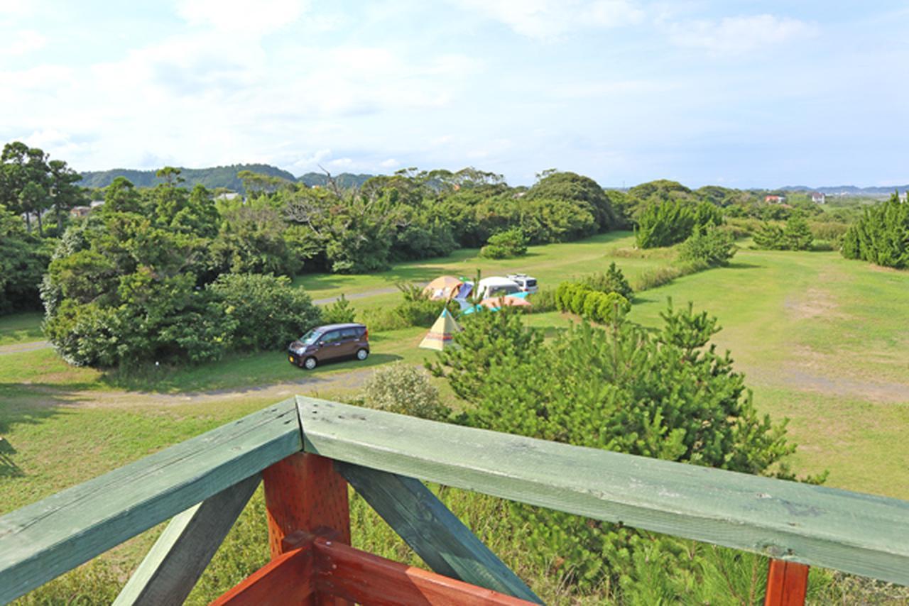 画像: 展望台から見下ろした大原オートキャンプインそとぼう futaricampguide.com