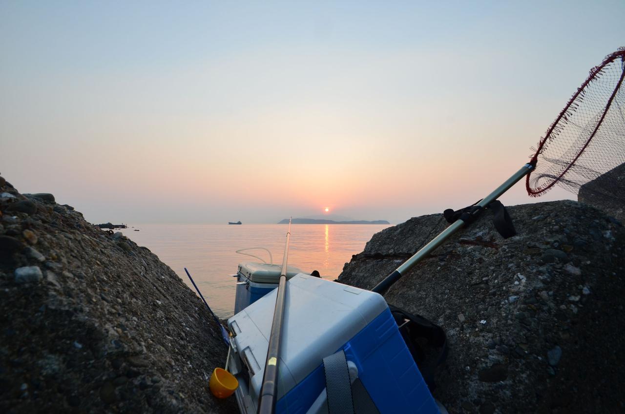 画像: 釣りをサポートする機能が付いている 竿を立てられるロッドホルダーがあると便利