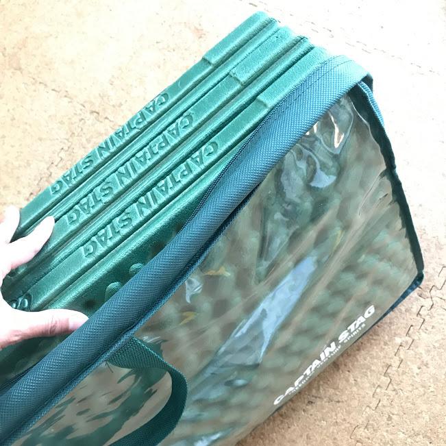 画像: ケースも付属しているので、持ち運びや収納が楽ちん 筆者撮影