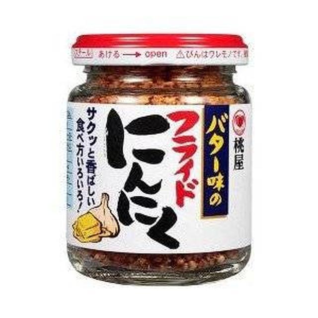 画像: Amazon.co.jp: 桃屋 バター味のフライドにんにく(58g): ドラッグストア