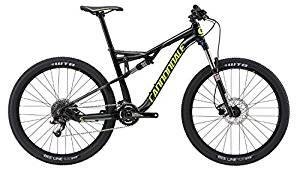 """画像: Amazon   [キャノンデール]Cannondale Habit Alloy 6 27.5"""" Bike - 2017 フルサスペンションマウンテンバイク JET BLACK/CHARCOAL XL [並行輸入品]   Cannondale(キャノンデール)   スポーツ&アウトドア"""