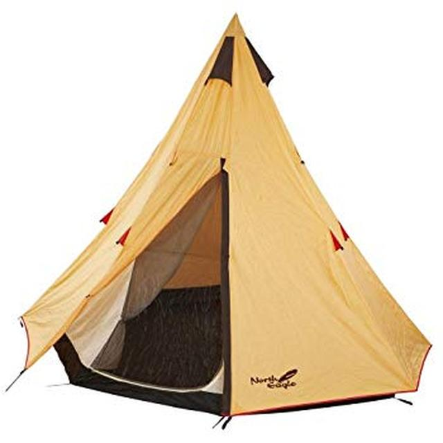 画像: Amazon | North Eagle(ノースイーグル) テント ワンポールテント 300 [3~4人用] NE156 | North Eagle(ノースイーグル) | テント本体