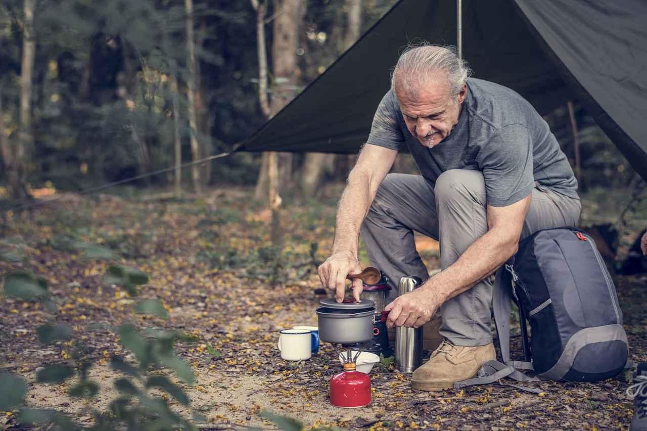 画像: 軽量化がポイント! コンパクトかつ便利なグッズで楽ちんソロキャンプ